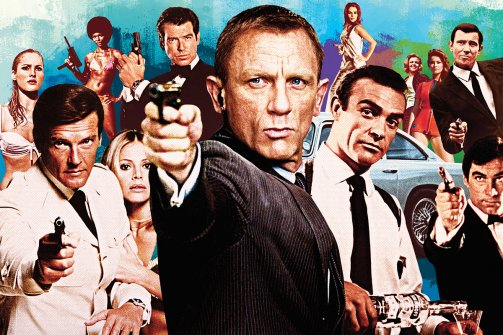 Top 10 James Bond Movies All Time